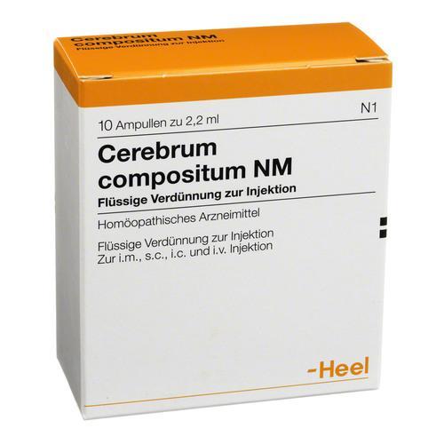 HEEL Cerebrum Compositum NM 10amps