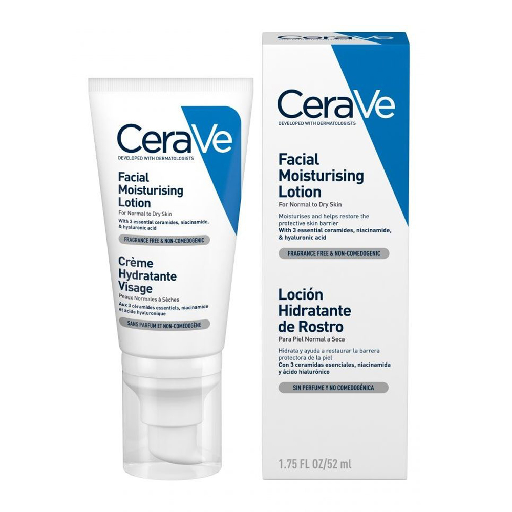CERAVE Facial Moisturising Lotion Ενυδατική Κρέμα Προσώπου - 52ml