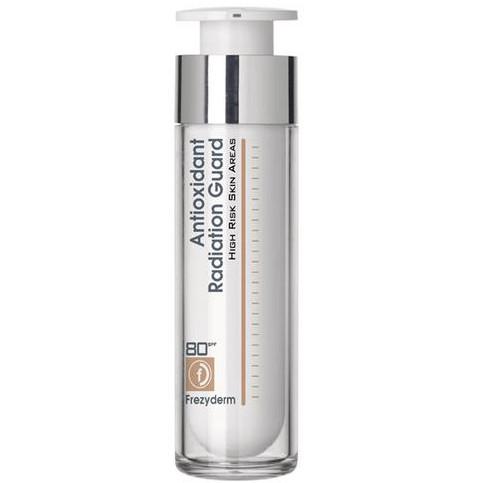 FREZYDERM Antioxidant Radiation Guard - Προστασία για Δερματικές Περιοχές Υψηλού Κινδύνου SPF80 50ml