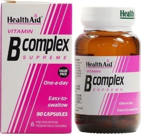 HEALTH AID B Complex Supreme - 90caps