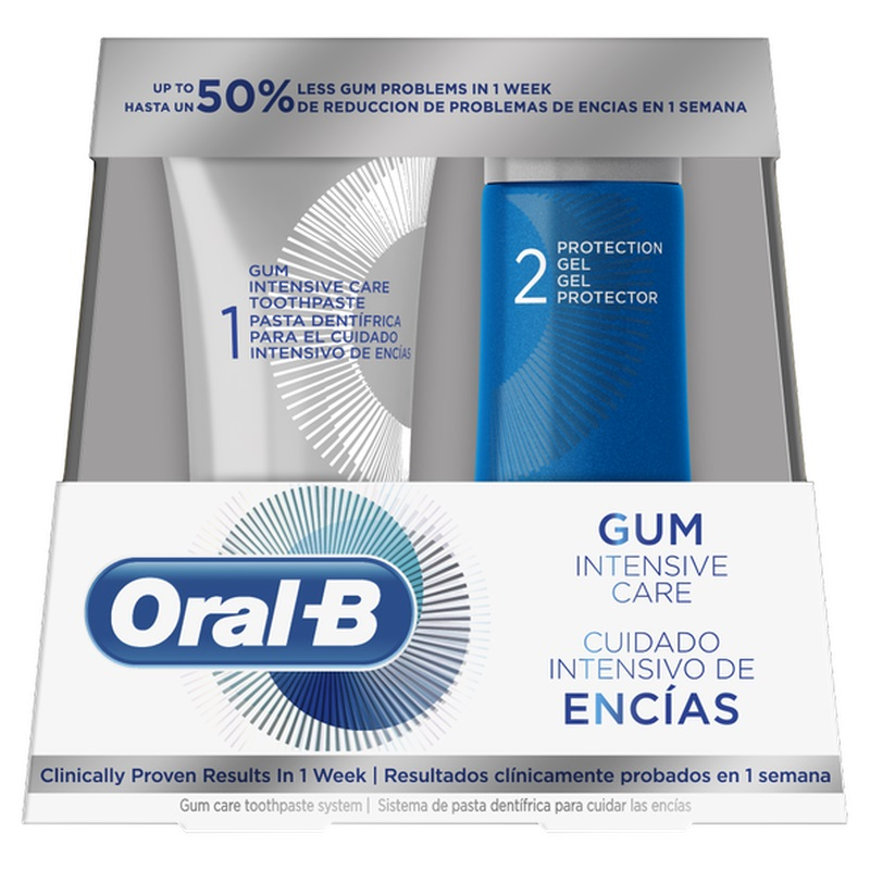 ORAL B  Gum Intensive Care - 85ml & 63ml