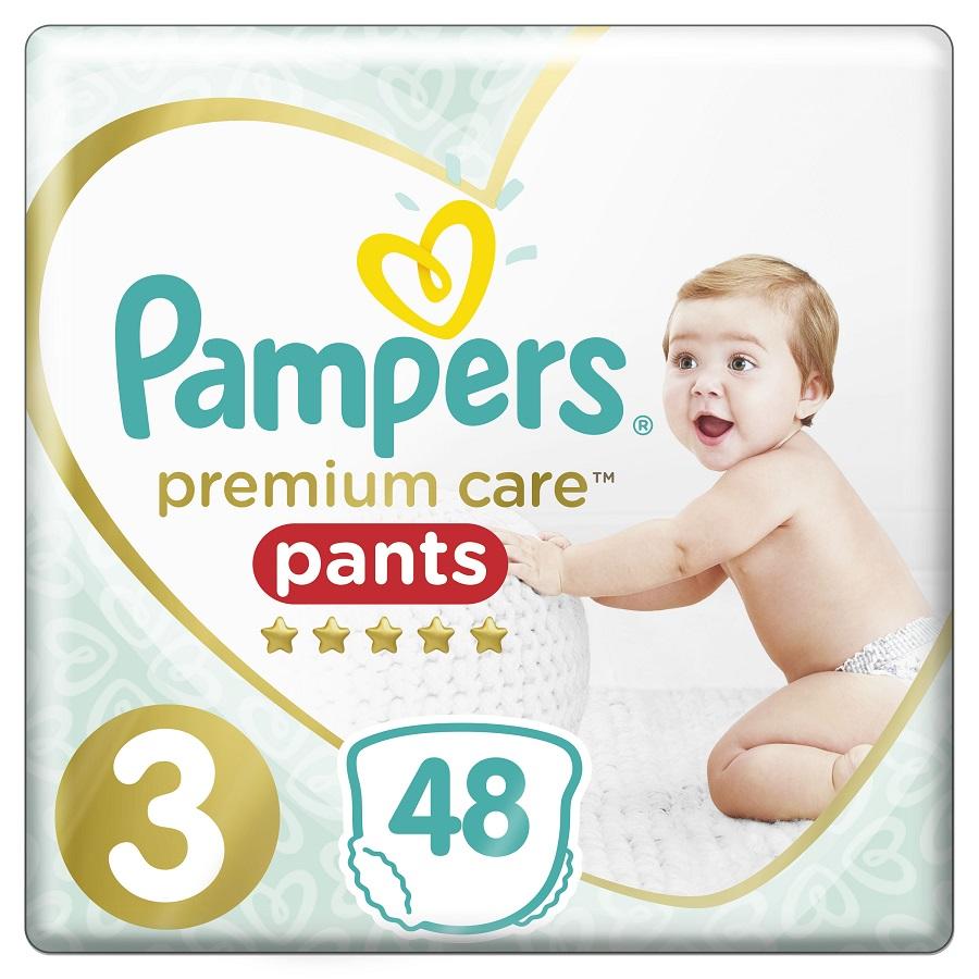 PAMPERS Premium Care Pants No 3 (6-11kg) - 48τμχ