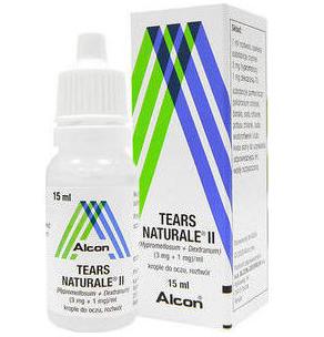 ALCON Tears Naturale II Med -Λιπαντικές Οφθαλμικές Σταγόνες 15ml