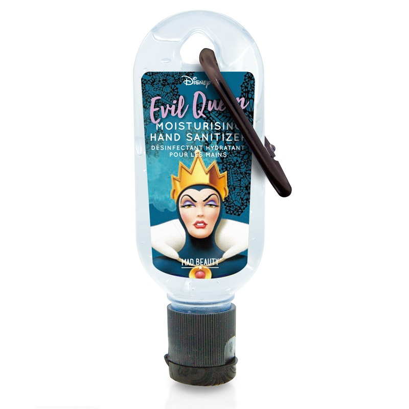 MAD BEAUTY Clip & Clean, Αντισηπτικό Τζελ Χεριών, Evil Queen- 30ml