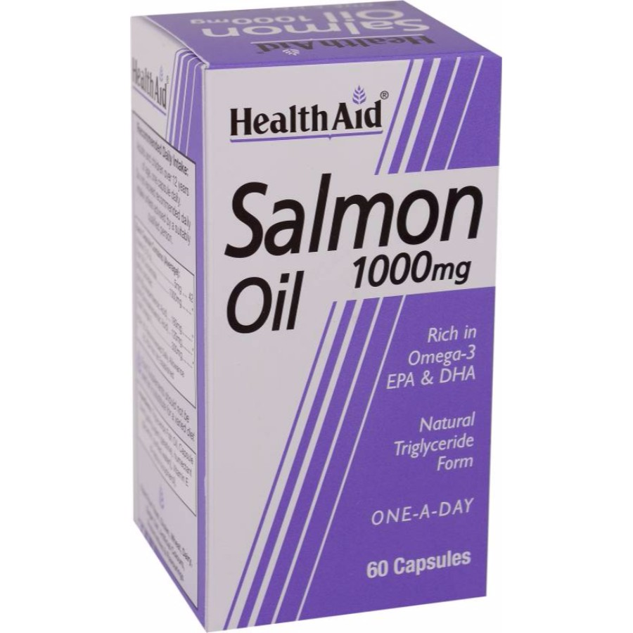 HEALTH AID Salmon Oil 1000mg 60Caps