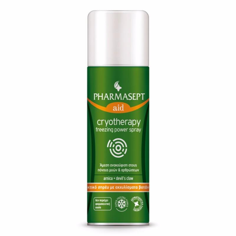 PHARMASEPT Cryotherapy Freezing Power Spray,  Τοπικό Αναλγητικό Spray - 150ml