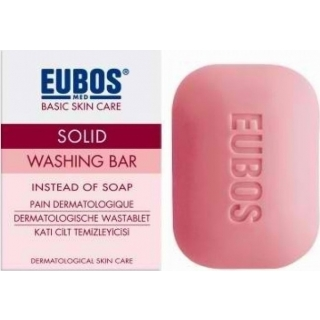 EUBOS Solid Red, Σαπούνι Κόκκινο -125g