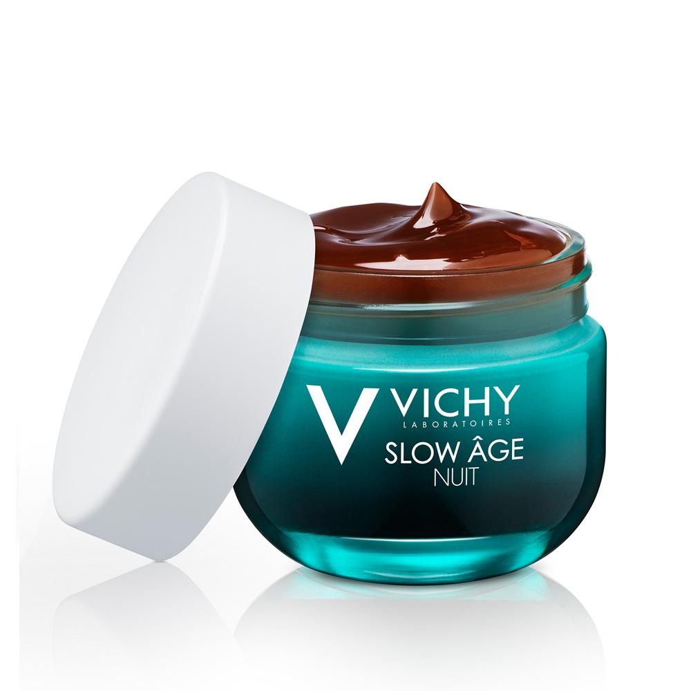 VICHY Slow Age Night Δροσερή Κρέμα Νύχτας & Μάσκα 2 σε 1 50ml