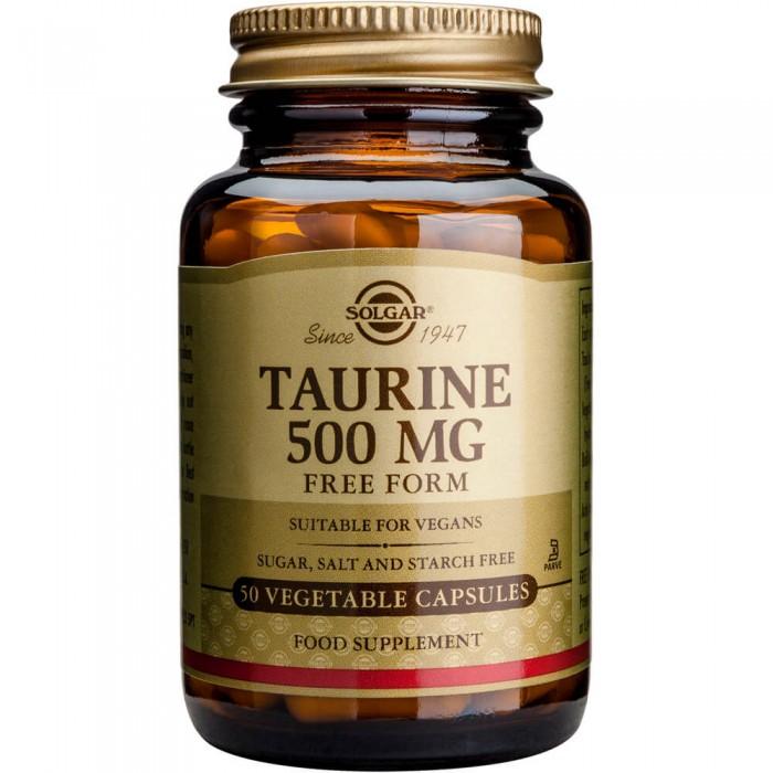 SOLGAR Taurine 500mg - 50veg.caps