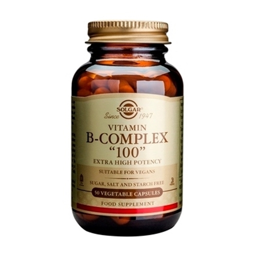 SOLGAR Vitamin B-Complex 100 - 50veg.caps