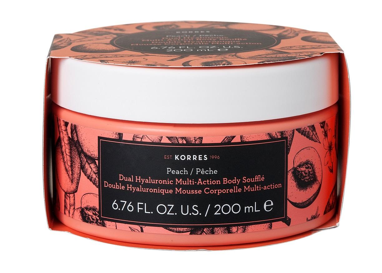 KORRES Peach Body Soufle, Κρέμα Σώματος - 200ml