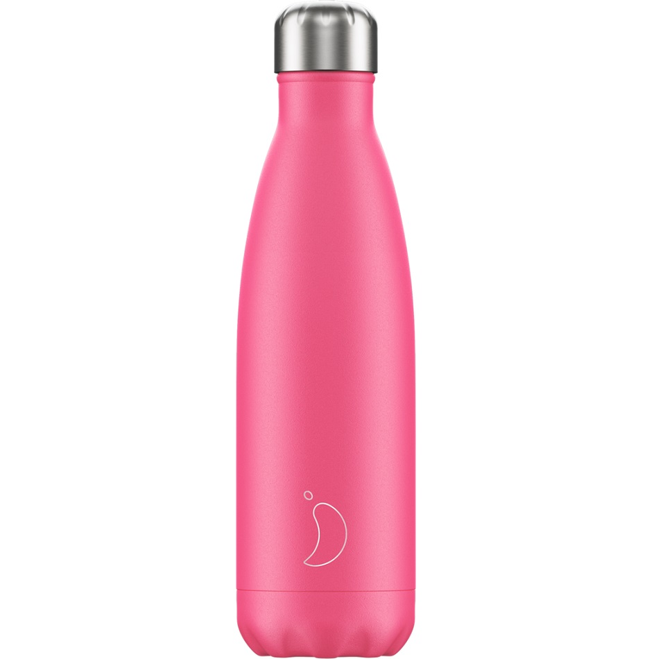 CHILLYS BOTTLES Μπουκάλι- Θερμός, Neon Pink - 500ml