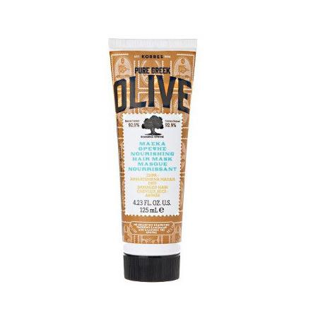 KORRES Pure Greek Olive Μάσκα Θρέψης Για Ξηρά-Αφυδατωμένα Μαλλιά 125ml