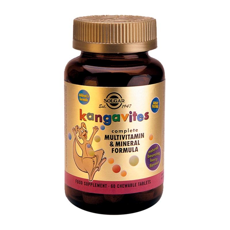SOLGAR Kangavites Complete Multivitamin & Mineral Formula - 60ch.tabs