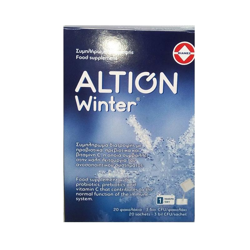 ALTION Winter, Προβιοτικά, Πρεβιοτικά & Βιταμίνη C - 20φάκελοι