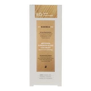 KORRES Βαφή Μαλλιών Abyssinia Superior Gloss Colorant Ξανθό Πολύ Ανοιχτό 9.0 50ml