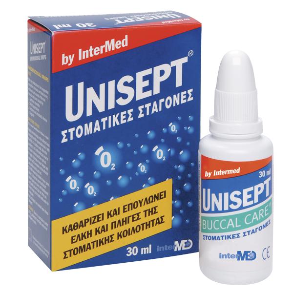 UNISEPT Buccal Στοματικές Σταγόνες 30ml