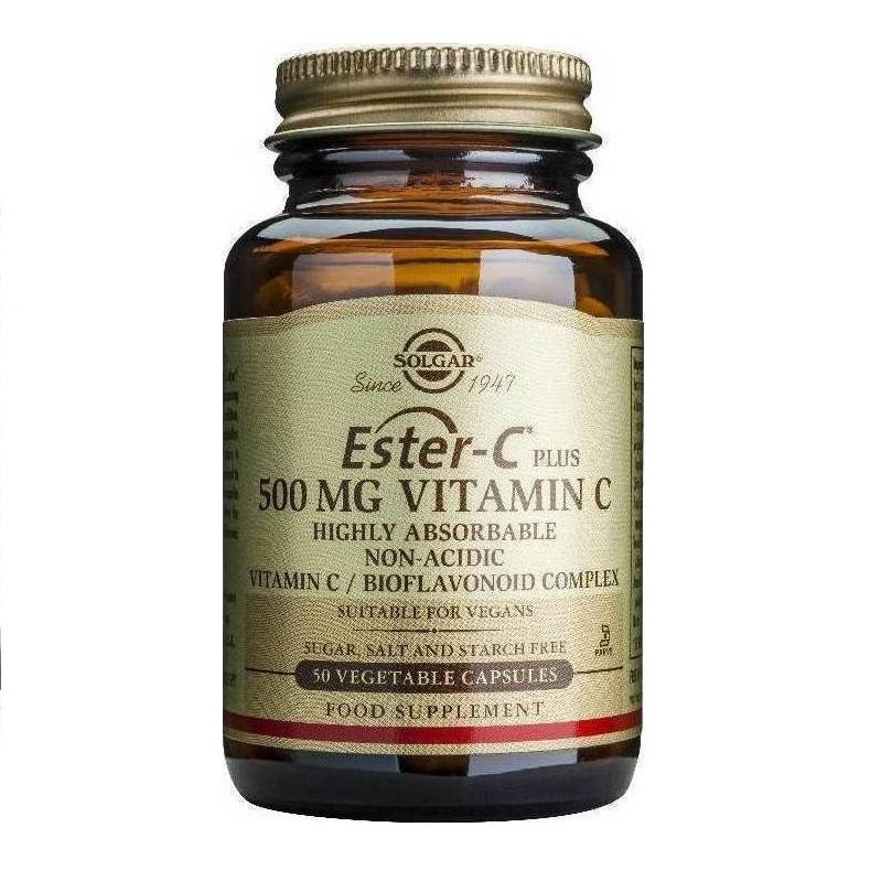 SOLGAR Vitamin Ester-C 500mg - 50veg.caps