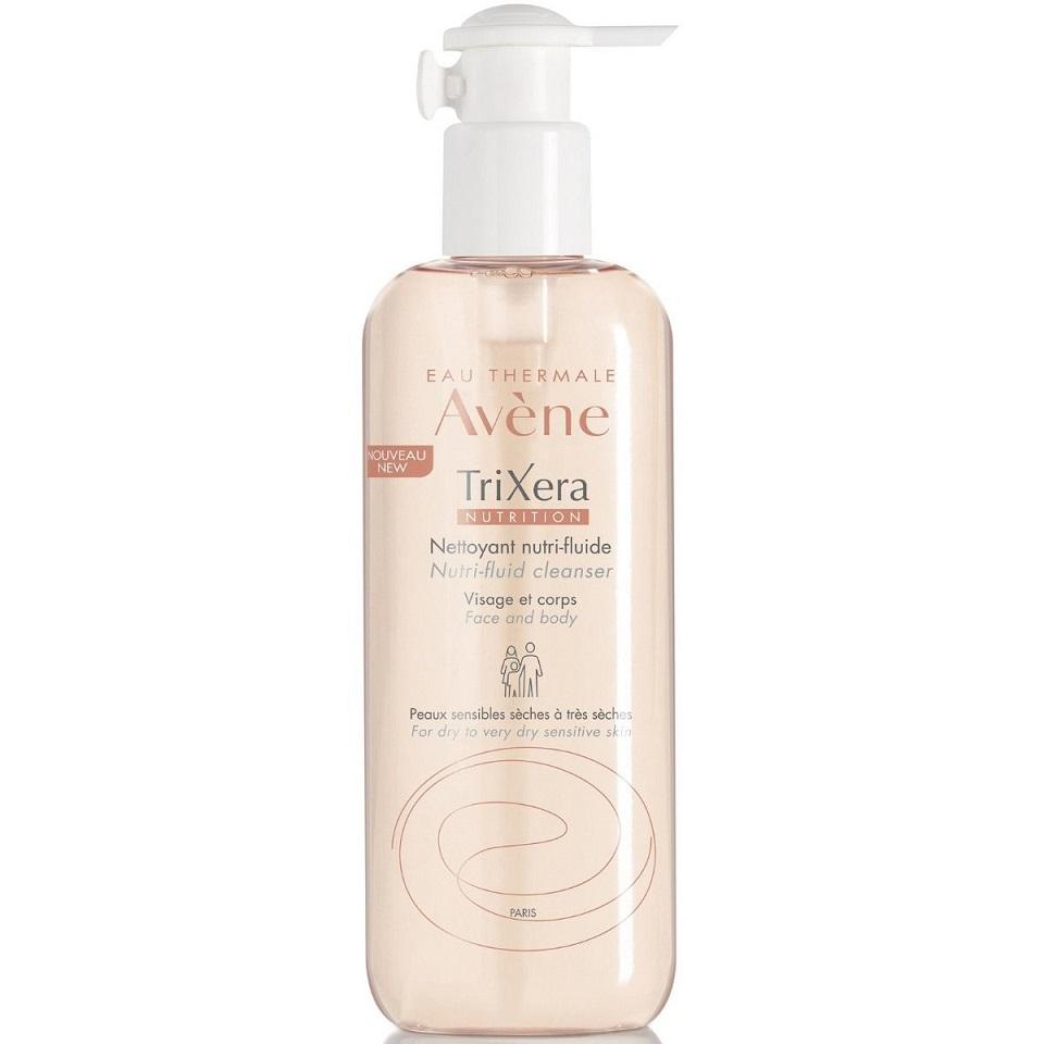 AVENE Trixera Nutrition Gel Nettoyant, Λεπτόρευστο Θρεπτικό Καθαριστικό - 500ml