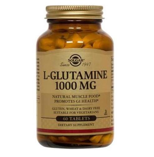 SOLGAR L-Glutamine 1000mg - 60tabs