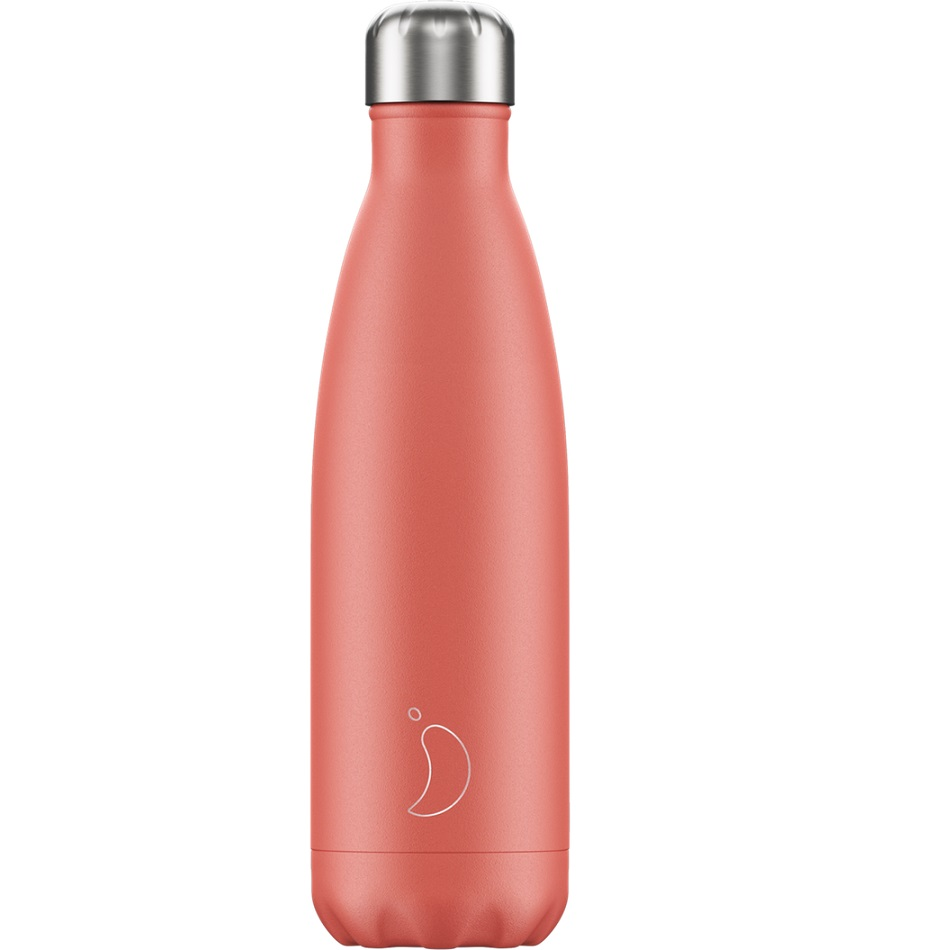 CHILLYS BOTTLES Μπουκάλι- Θερμός, Pastel Coral - 500ml