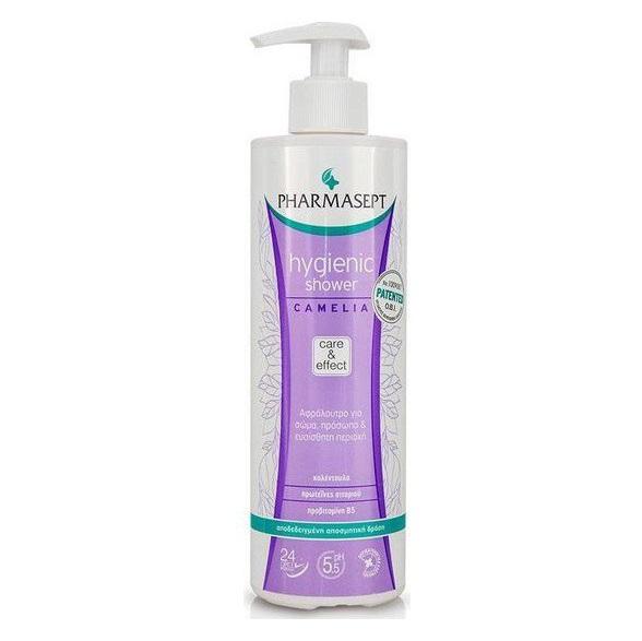 PHARMASEPT Hygienic Shower Camelia, Αφρόλουτρο με Ήπια Αντισηπτική Δράση - 500ml