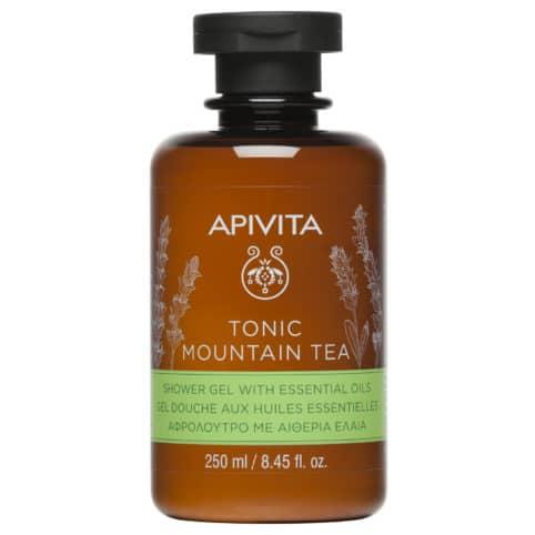APIVITA Tonic Mountain Tea Body Shower Gel, Αφρόλουτρο με Τσάι του Βουνού - 250ml