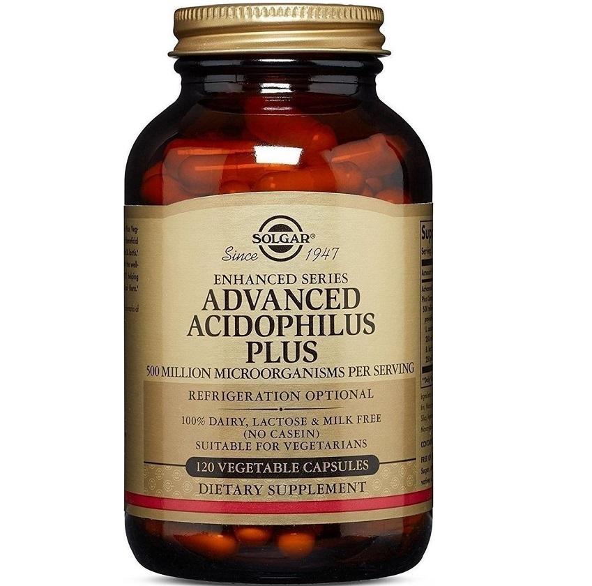 SOLGAR Advanced Acidophilus Plus - 120veg.caps