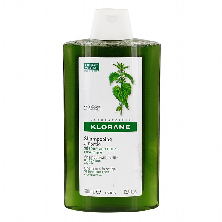 KLORANE Shampooing A LOrtie - Σαμπουάν Με Εκχύλισμα Τσουκνίδας για Λιπαρά Μαλλιά 400ml