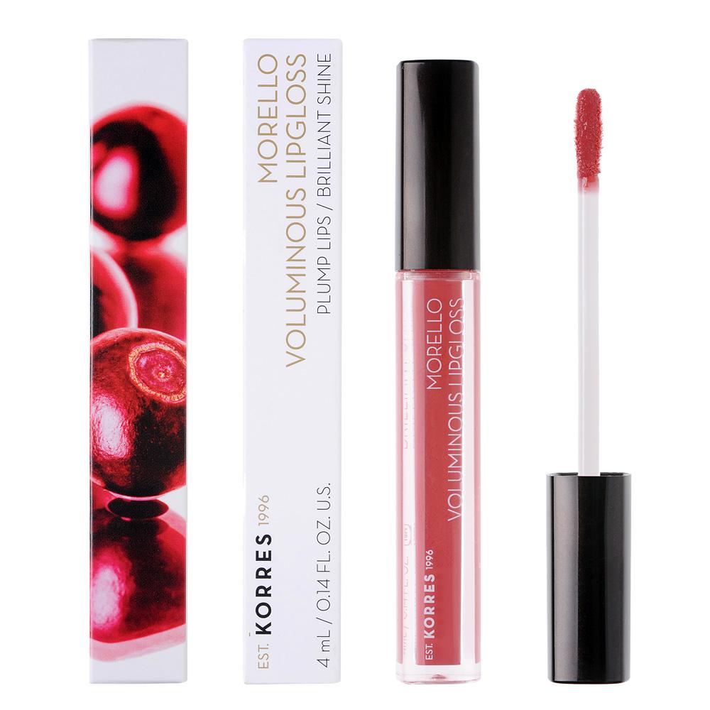 KORRES Morello Voluminous Lip Gloss 16 Blushed Pink 4ml