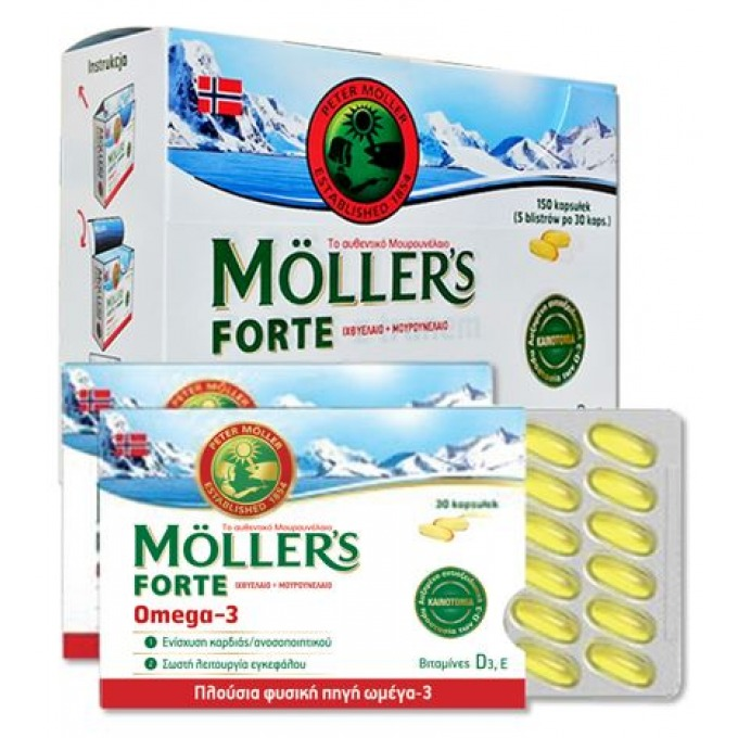 MOLLERS Forte Omega-3 - 150caps