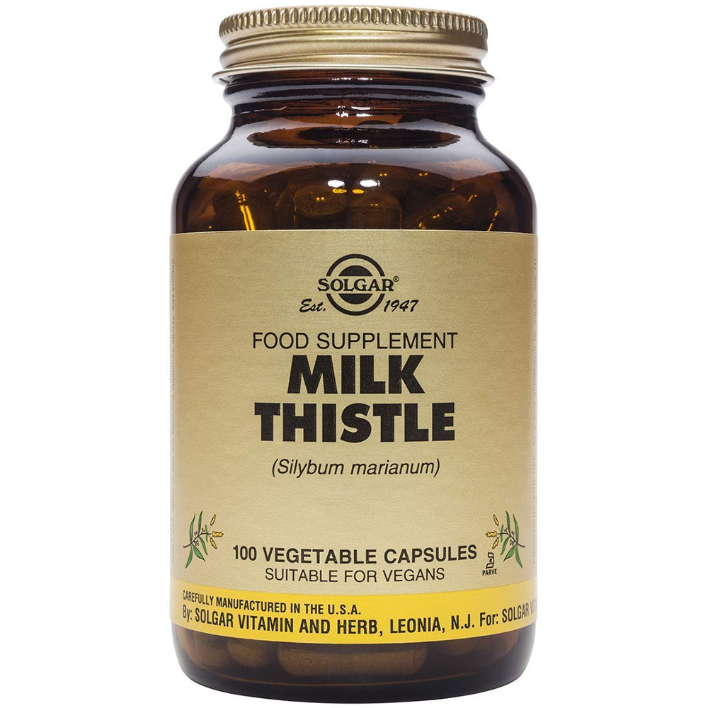 SOLGAR Milk Thistle - 100veg.caps