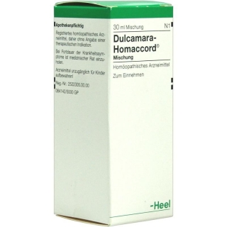 HEEL Dulcamara- Hommacord Drops - 30ml