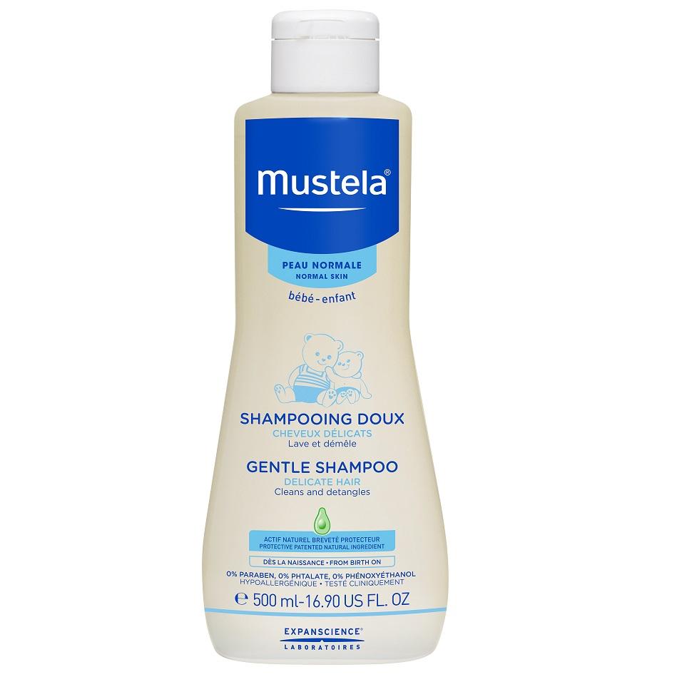 MUSTELA Gentle Shampoo, Απαλό Σαμπουάν για Βρέφη και Μωρά - 500ml