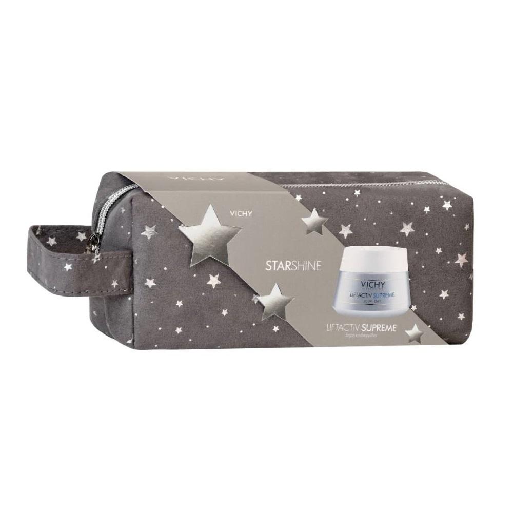 VICHY Starshine Liftactiv Supreme για Ξηρή Επιδερμίδα - 50ml με Δώρο Γιορτινό Νεσεσέρ
