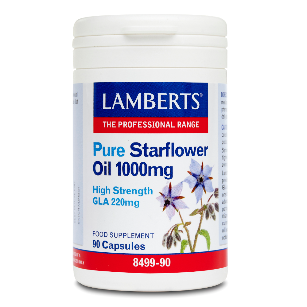 LAMBERTS Pure Starflower Oil 1000mg 90caps