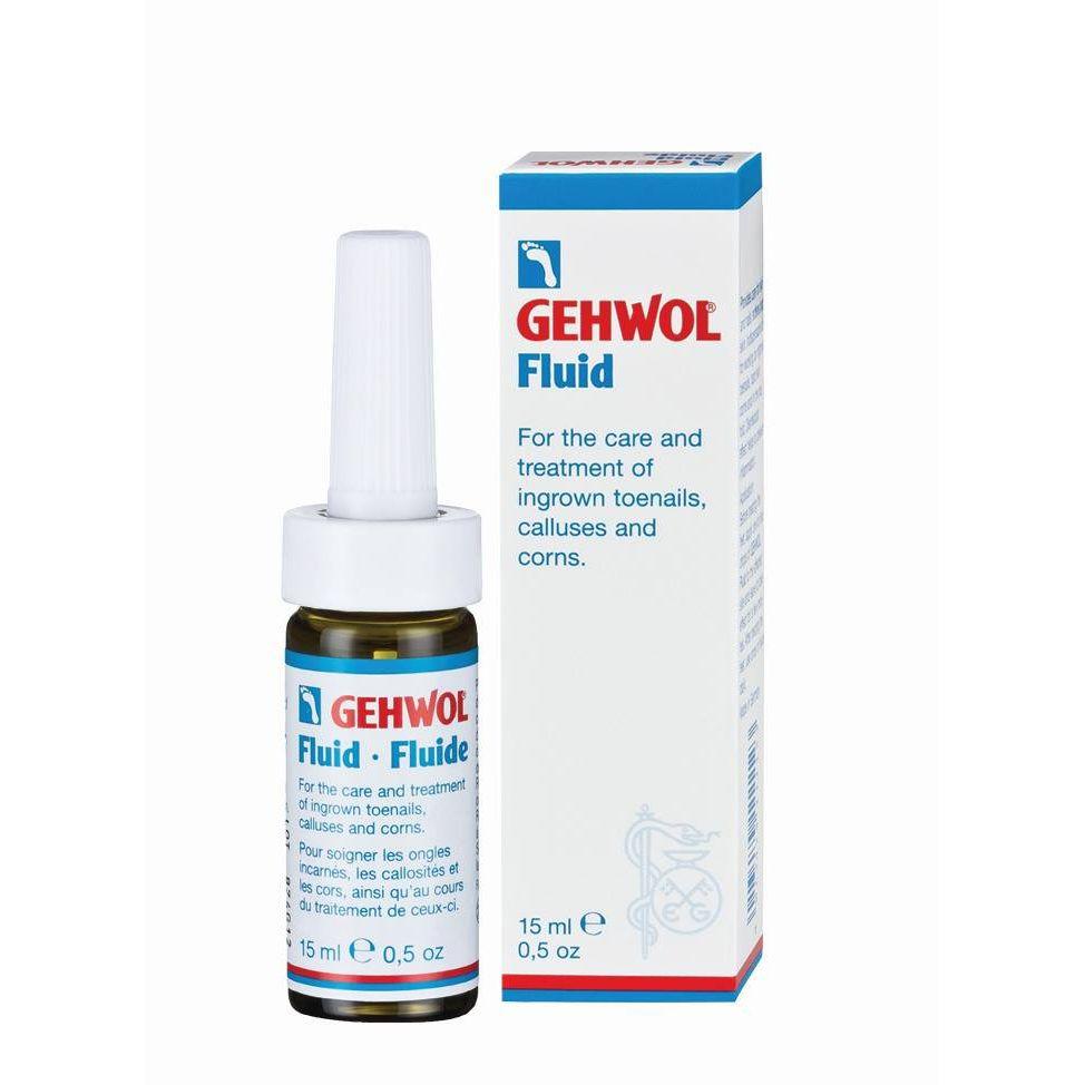 GEHWOL Fluid, Καταπραϋντικό & Απολυμαντικό Υγρό Για Ερεθισμένους Κάλους - 15ml
