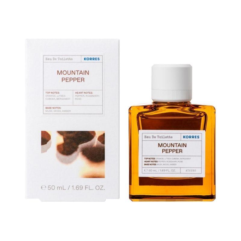 KORRES Mountain Pepper Bergamot Coriander Eau de Toilette - 50ml