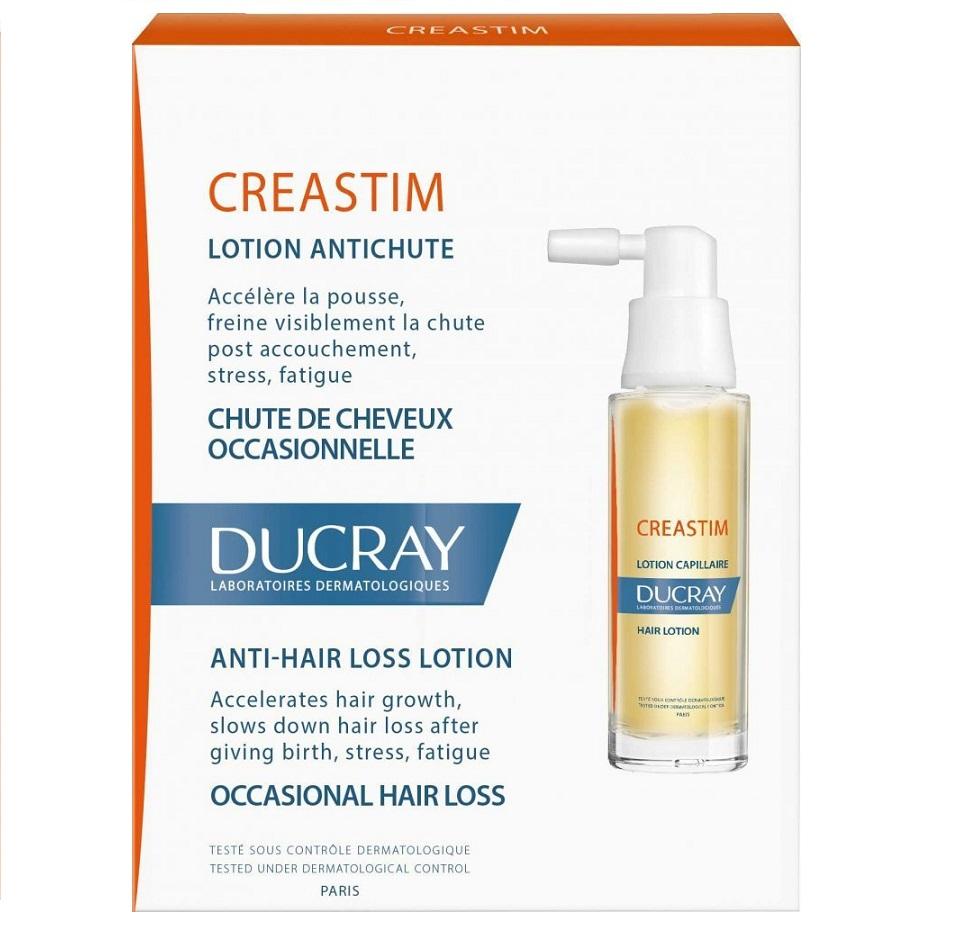 Ducray Creastim Lotion, Λοσιόν Κατά της Τριχόπτωσης - 2x30ml