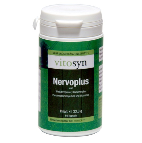 METAPHARM Vitosyn Nervoplus 60caps
