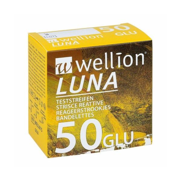 WELLION Luna Tαινίες μέτρησης γλυκόζης - 50 τεμ