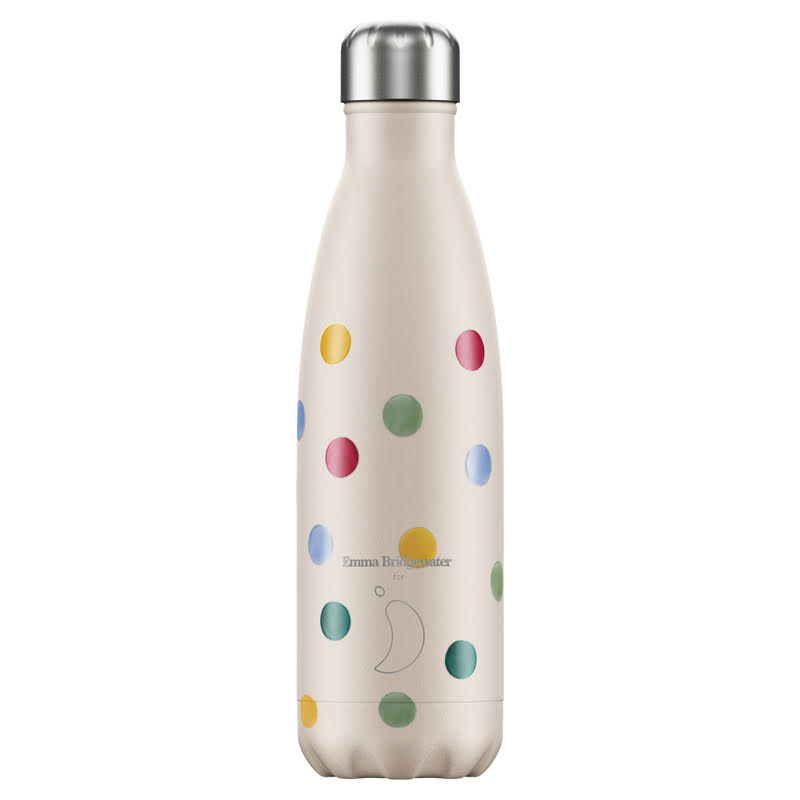 CHILLYS BOTTLES Μπουκάλι- Θερμός Emma Bridgewater Polka Dot - 500ml