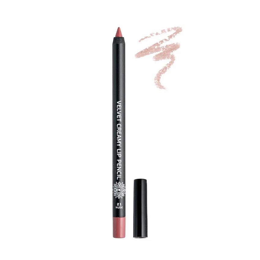 GARDEN Velvet Creamy Lip Pencil, Μολύβι Χειλιών, Nude No21 - 1,4gr