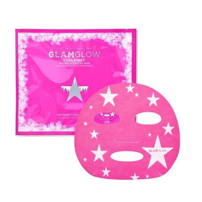 GLAMGLOW Coolsheet No-Drip Hydrating Mask, Ενυδατική Μάσκα  Προσώπου - 1τμχ