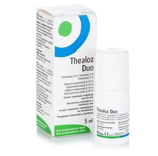 THEA Thealoz Duo Eye Drops, Οφθαλμικές Σταγόνες - 5ml