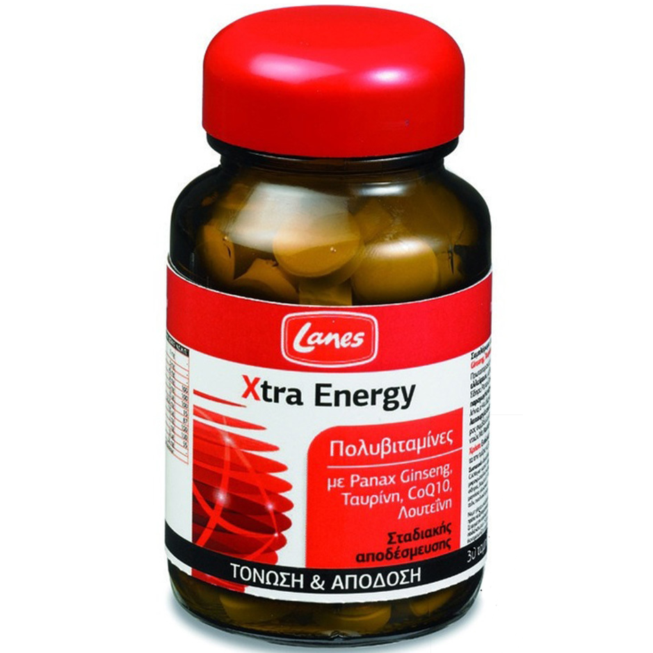 LANES Xtra Energy 30tabs