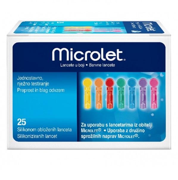 ASCENSIA Microlet Lancets - 25τμχ