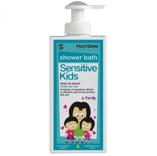 FREZYDERM Sensitive Kids Shower Bath - 200ml