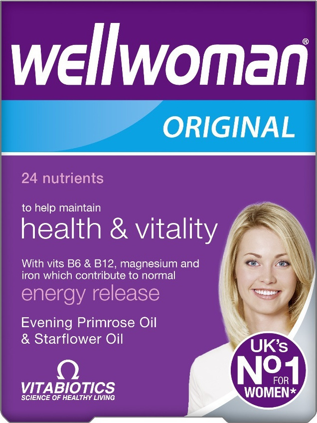 VITABIOTICS Wellwoman Original 30tabs