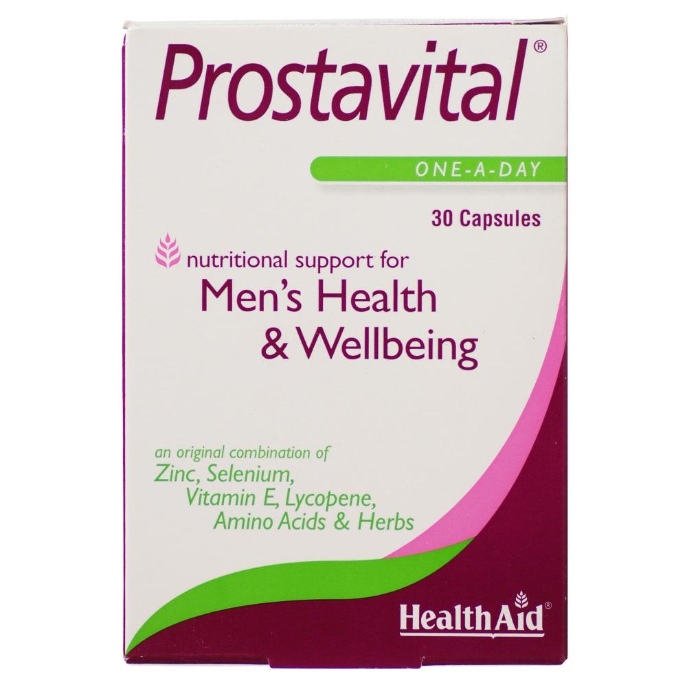 HEALTH AID Prostavital Mens Health & Wellbeing - 30 κάψουλες